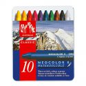 Caran d'Ache Neocolor II aquarel waspastel – SET 10 kleuren