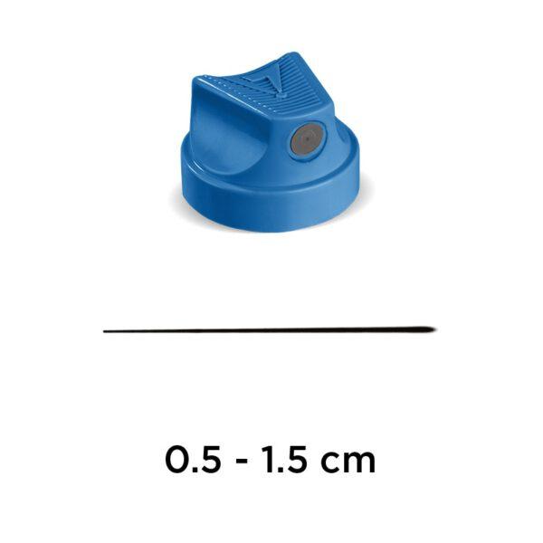 Molotow Premium Artist Cap – 900077 Flame Fine (Blue/Grey)