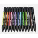 W&N Promarker - set 12 basiskleuren