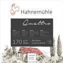 Hahnemuhl Quattro Tekenblok 170gram 50vel – 25x25cm