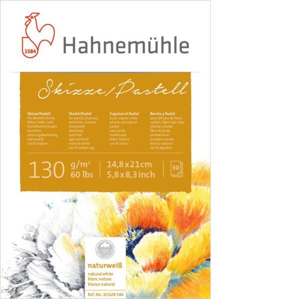 Hahnemuhle Pastelblok 130gram 30vel - Blok A5