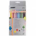 lamy plus potloden set 12 karton