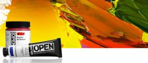 golden open banner