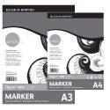 DR Simply MARKER paper 70gram 40vel - Blok A4