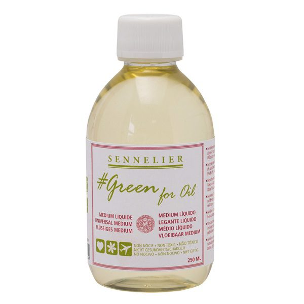 GREEN FOR OIL - Vloeibaar Medium 250ml