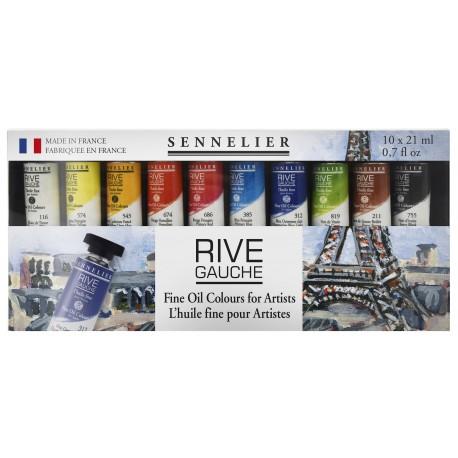 Sennelier Rive Gauche Olieverf - SET 10x21ml