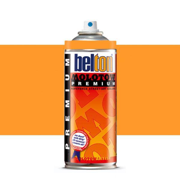 Molotow Belton Premium Artist Spraypaint 400ml - 233 Neon Orange