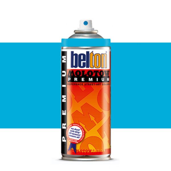 Molotow Belton Premium Artist Spraypaint 400ml - 235 Neon Blue