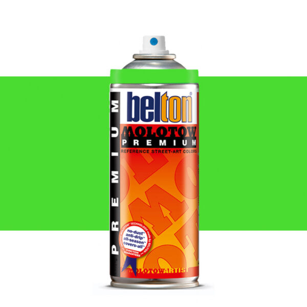 Molotow Belton Premium Artist Spraypaint 400ml - 236 Neon Green
