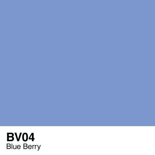 Copic marker - BV04 Blue Berry