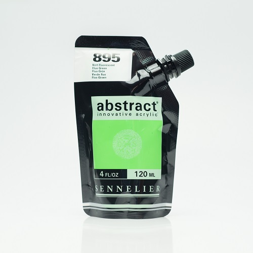 Abstract Acrylverf Sennelier – 120ml 895 Fluorescent Groen