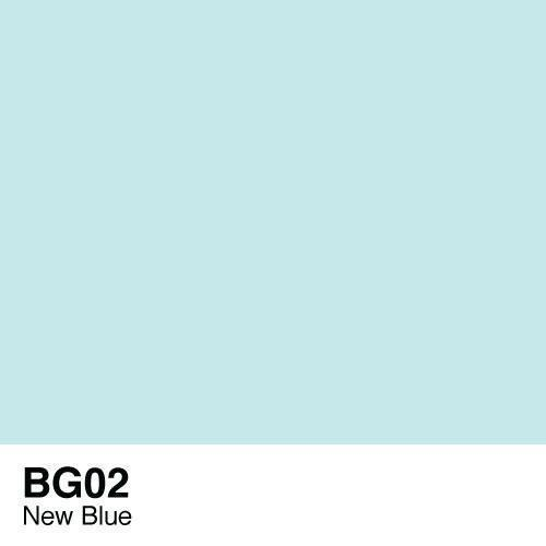 Copic marker - BG02 New Blue