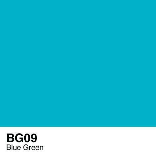 Copic marker - BG09 Blue Green