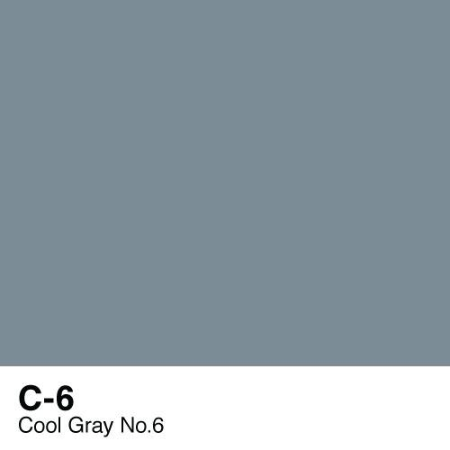 Copic marker - C6 Cool Gray no.6