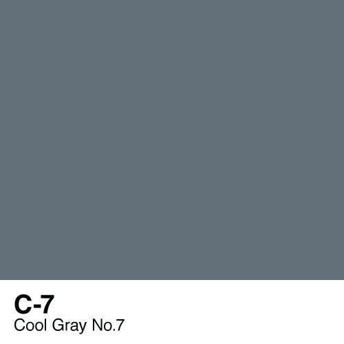 Copic marker - C7 Cool Gray no.7
