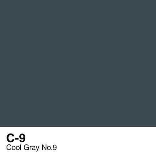 Copic marker - C9 Cool Gray no.9