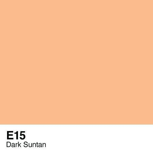 Copic marker - E15 Dark Suntan