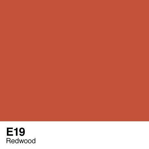Copic marker - E19 Redwood