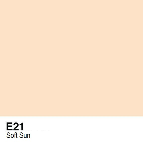 Copic marker - E21 Soft Sun