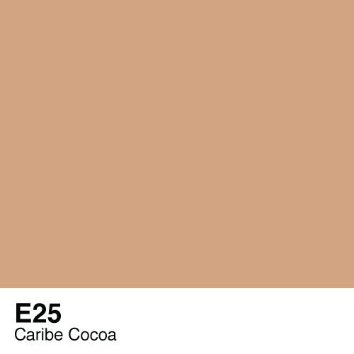 Copic marker - E25 Caribe Cocoa