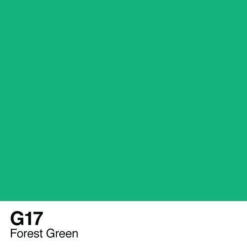 Copic marker - G17 Forest Green