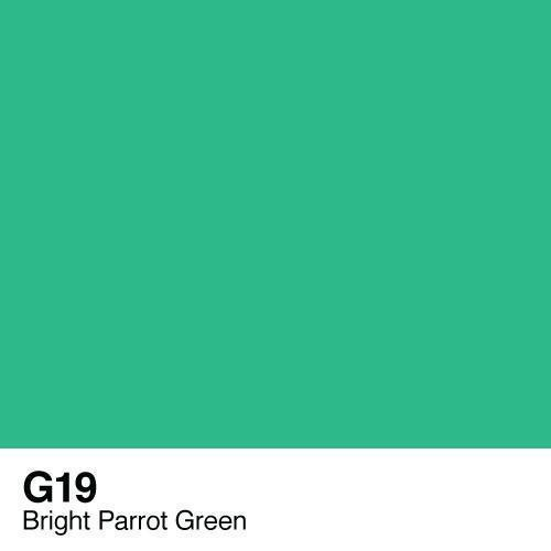 Copic marker - G19 Bright Parrot Green