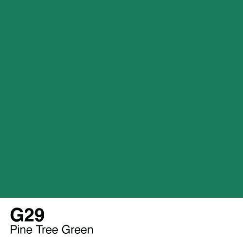 Copic marker - G29 Pine Tree Green