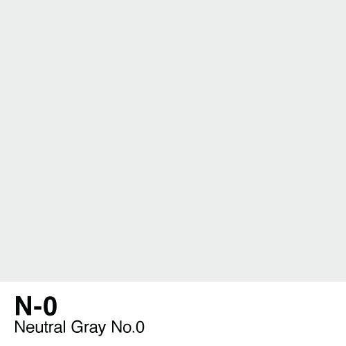 Copic marker - N0 Neutral Gray no.0