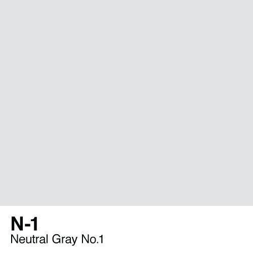 Copic marker - N1 Neutral Gray no.1