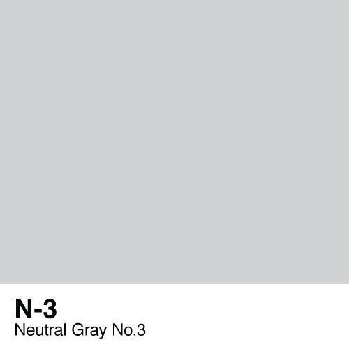 Copic marker - N3 Neutral Gray no.3