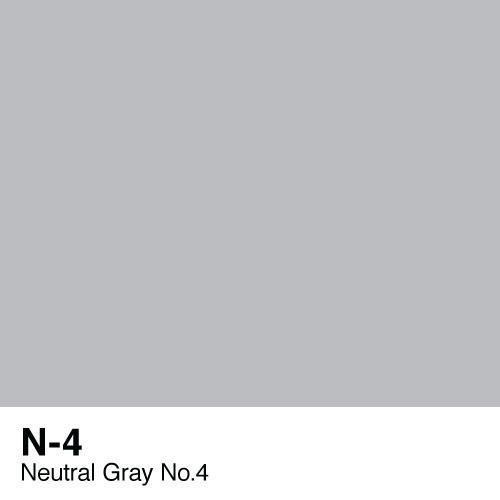 Copic marker - N4 Neutral Gray no.4