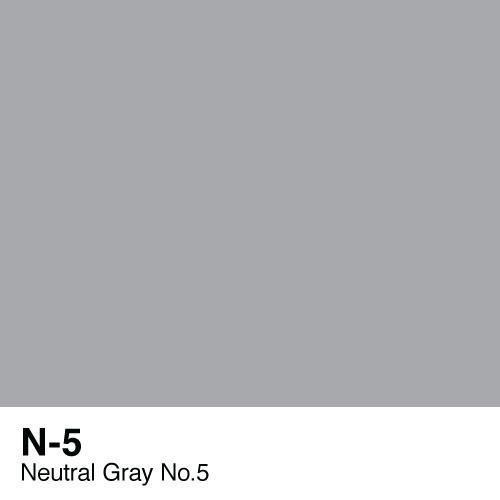 Copic marker - N5 Neutral Gray no.5