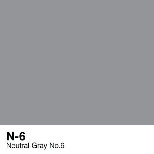 Copic marker - N6 Neutral Gray no.6