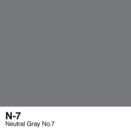 Copic marker - N7 Neutral Gray no.7