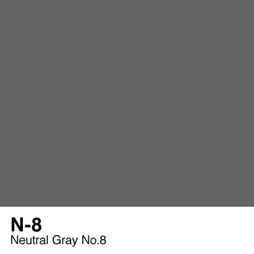 Copic marker - N8 Neutral Gray no.8