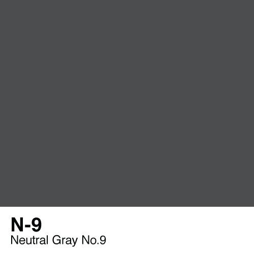 Copic marker - N9 Neutral Gray no.9