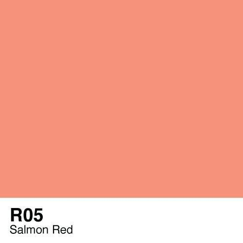Copic marker - R05 Salmon Red