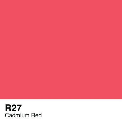 Copic marker - R27 Cadmium Red