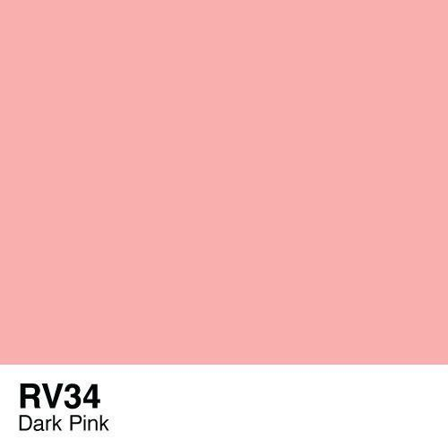 Copic marker - RV34 Dark Pink