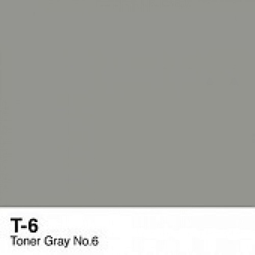Copic marker - T6 Toner Gray no.6