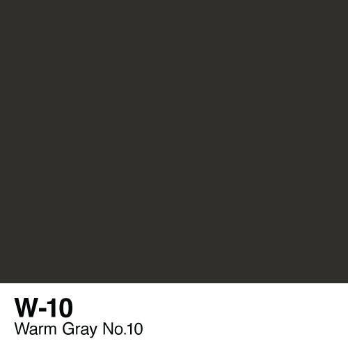 Copic marker - W10 Warm Gray no.10