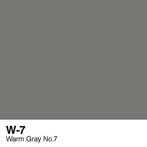 Copic marker - W7 Warm Gray no.7