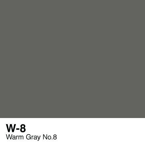 Copic marker - W8 Warm Gray no.8