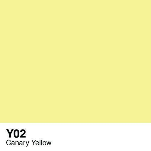 Copic marker - Y02 Canary Yellow