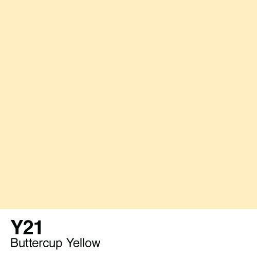 Copic marker - Y21 Buttercup Yellow