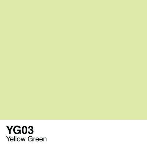 Copic marker - YG03 Yellow Green