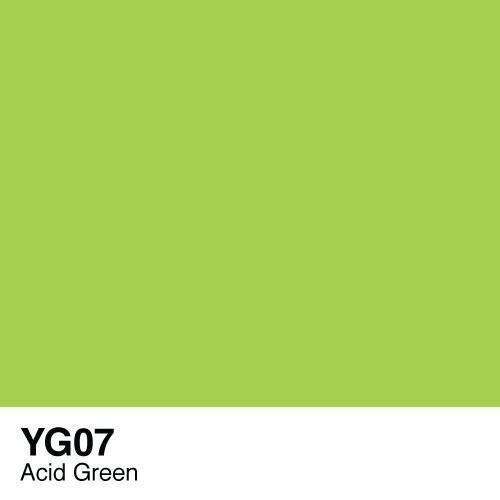 Copic marker - YG07 Acid Green
