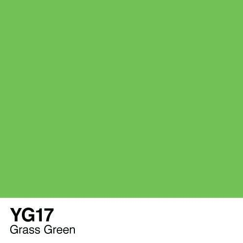 Copic marker - YG17 Grass Green
