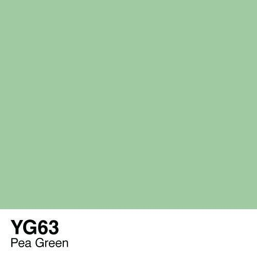 Copic marker - YG63 Pea Green