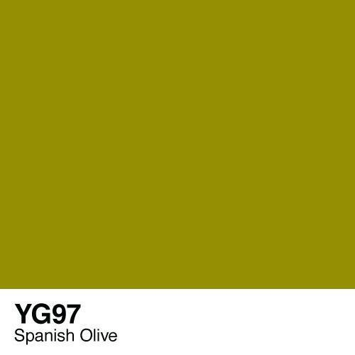 Copic marker - YG97 Spanish Olive